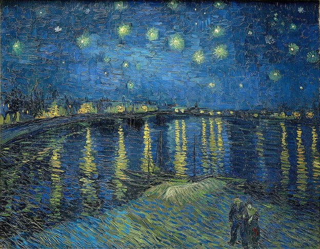 Image-Starry-Night-Over-The-Rhone-Vincent-Van-Gogh-South-of-France
